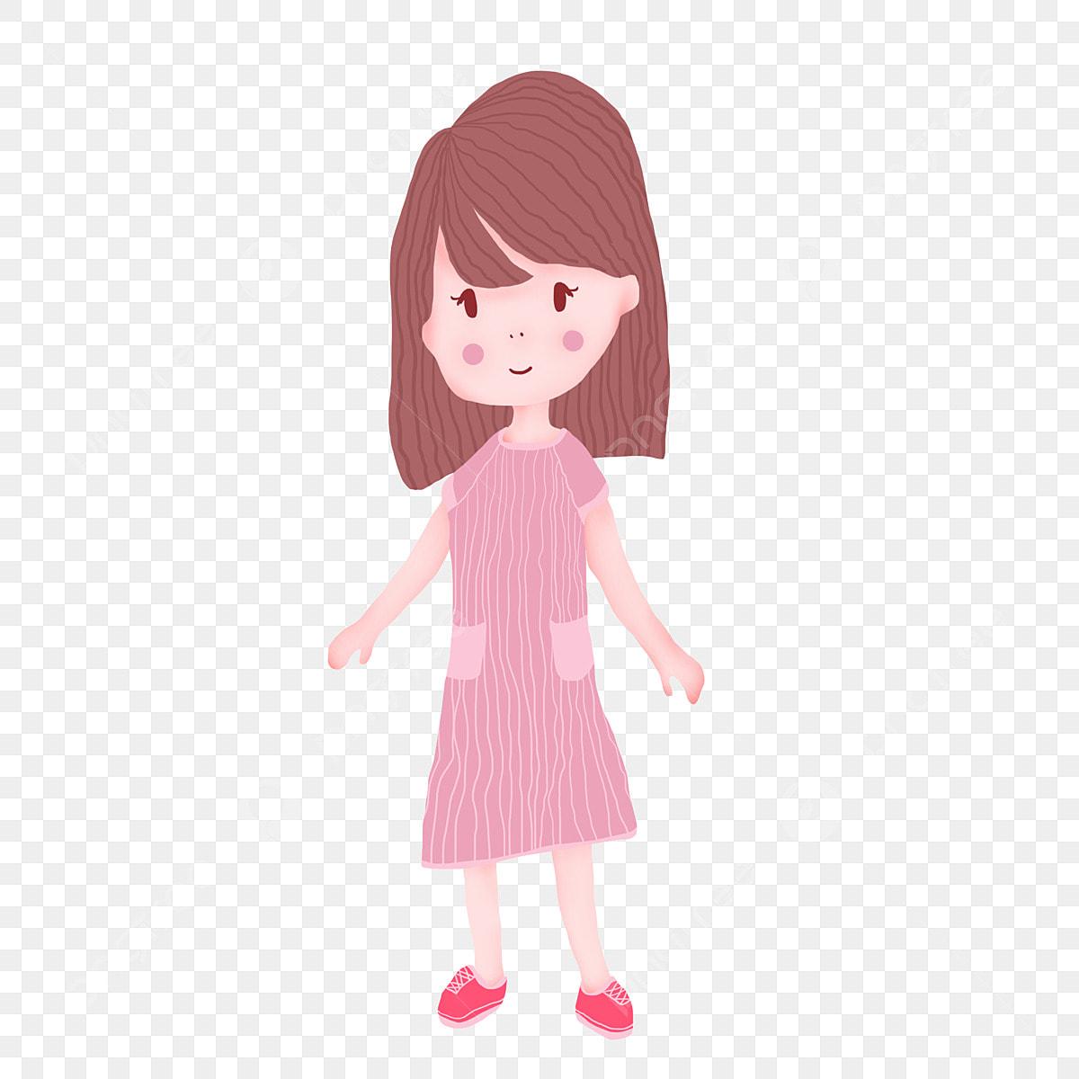 Élément Fille Robe Rose Design Cheveux Courts Les Vêtements qUVzSpM