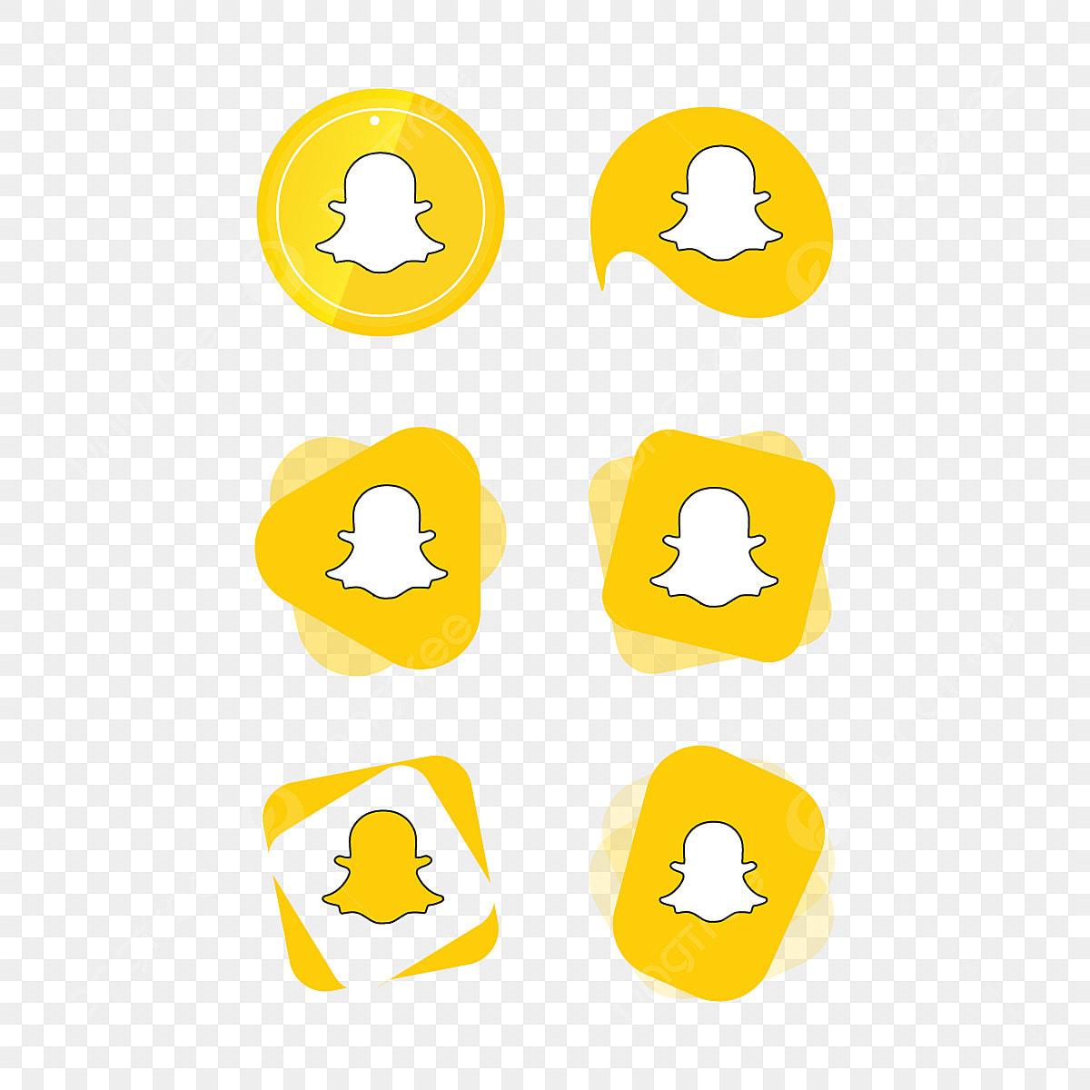 Snapchat المفاجئة الدردشة ايقونة شعار مجموعة مجموعة وسائل الاعلام الاجتماعية ناقلات المصور التطبيق أسود Png والمتجهات للتحميل مجانا