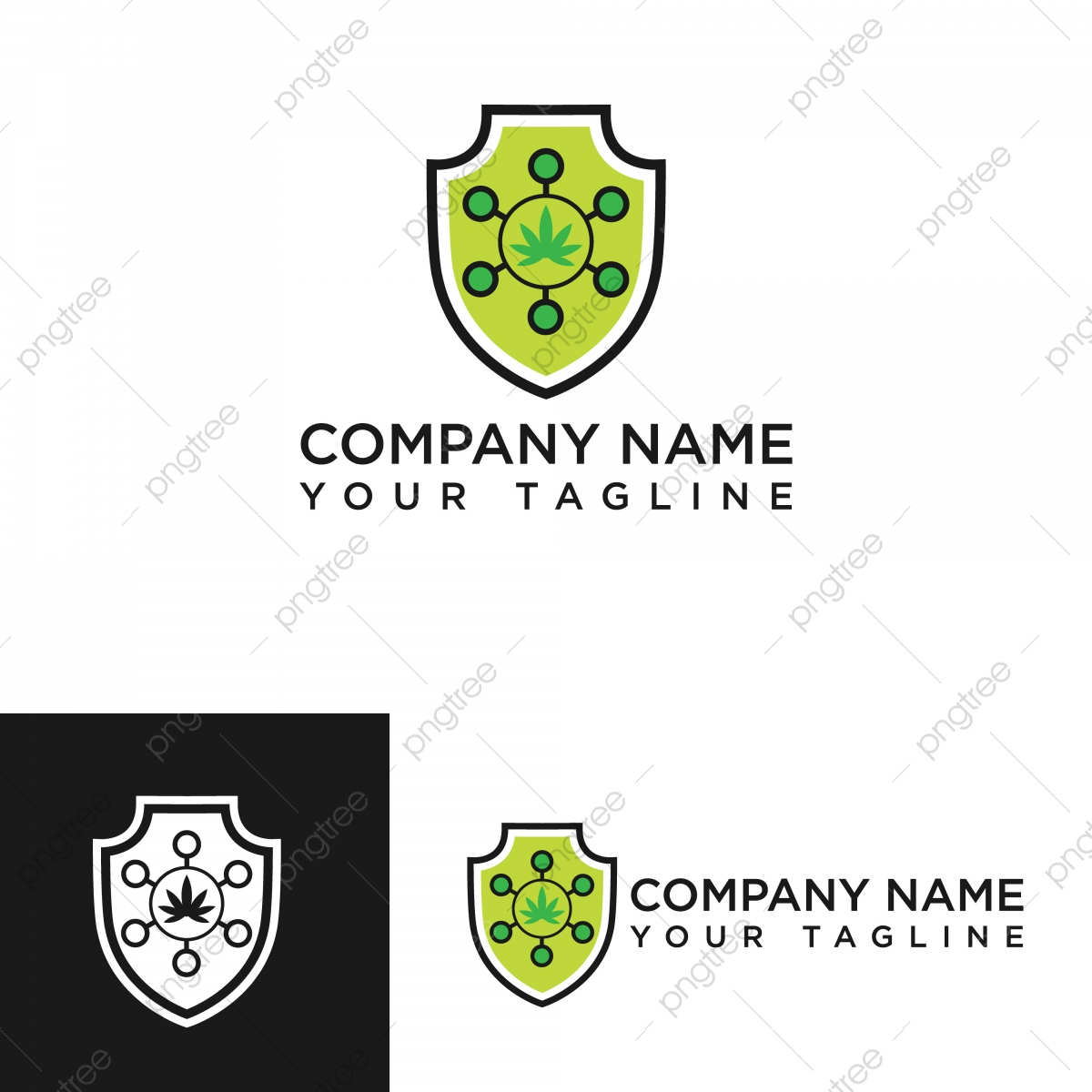 hojas y escudos ilustracion vectorial de logotipo de la empresa con los simbolos cientificos analisis arte atom png y vector para descargar gratis pngtree pngtree