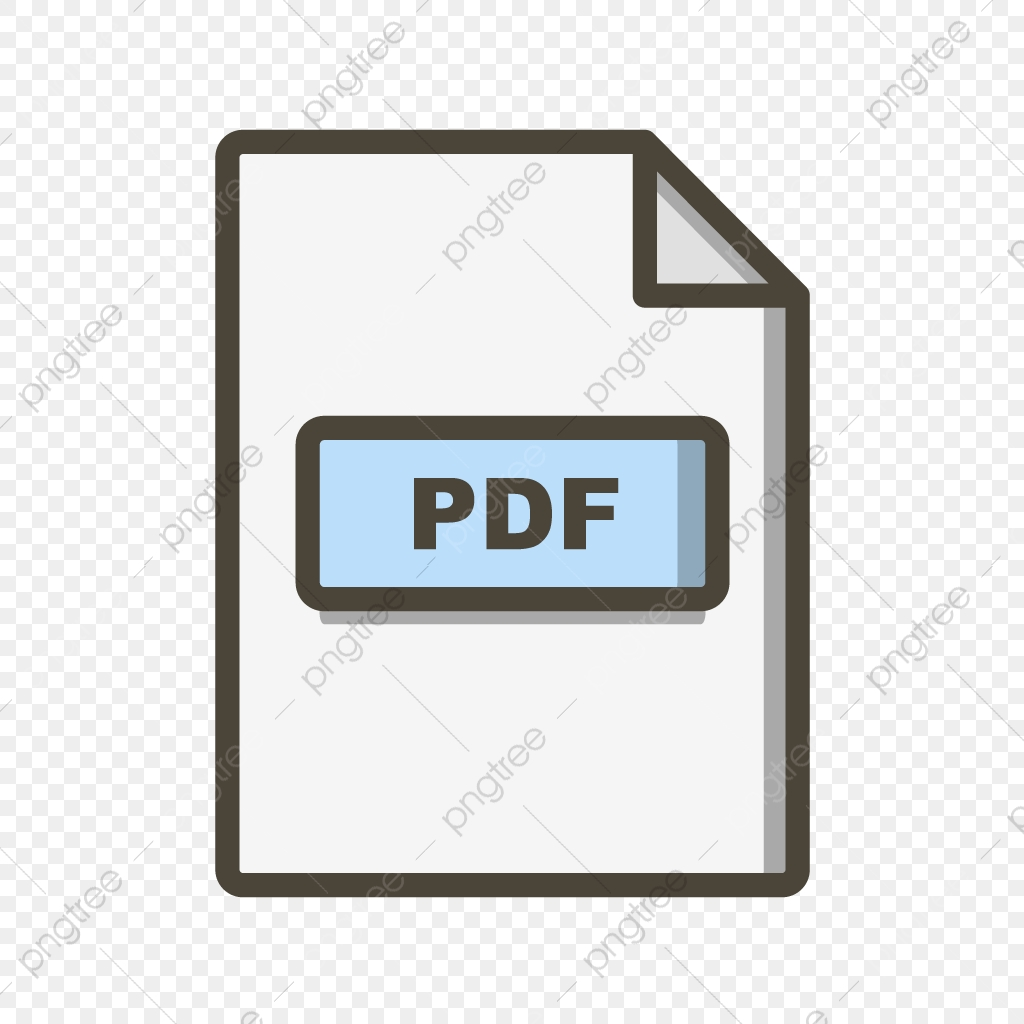 Vector Pdf Icon Pdf Document File Png And Vector With