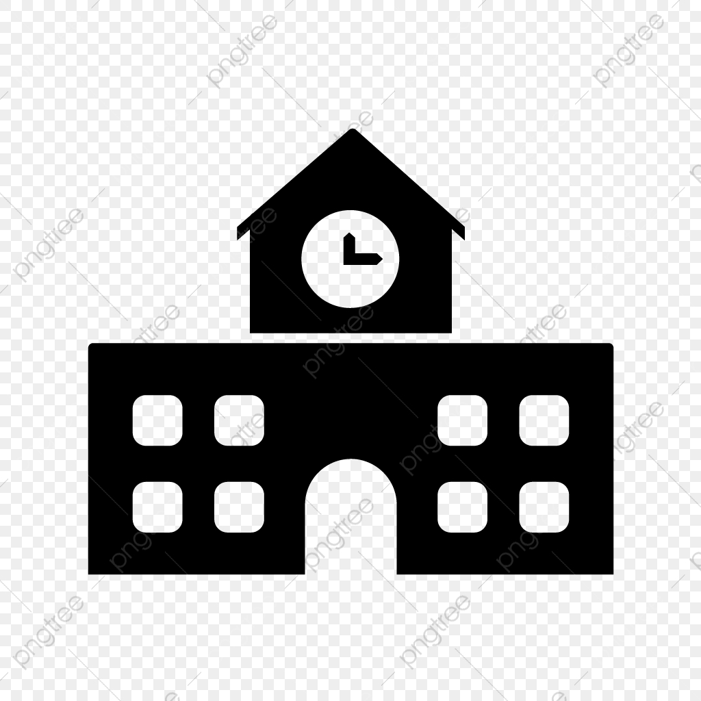 Vector School Icon School Sity Educational Png And Vector