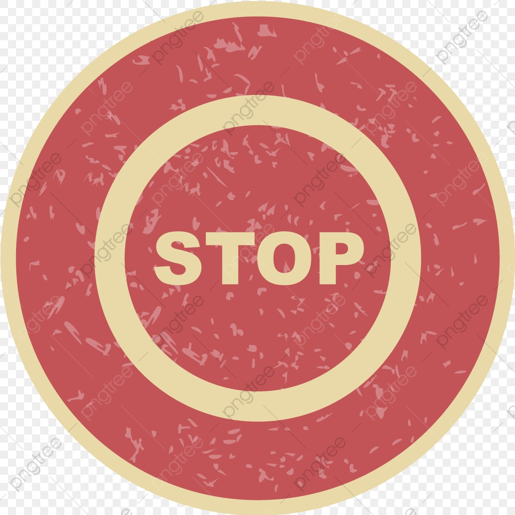 Vector Stop Icon, Stop, Attention, Danger PNG and Vector