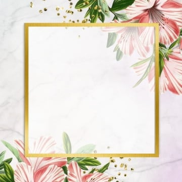 golden frame design, Rose, Frame, Blooming PNG and PSD