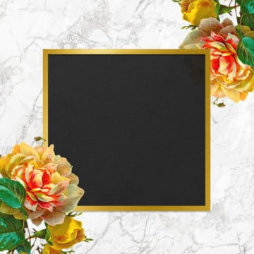 vintage floral frame design, Vintage Rose, Frame, Blooming PNG and PSD