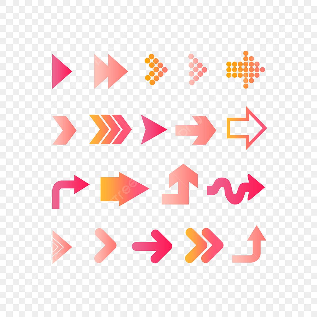 Tendencia De Moda De Color Rosa Progresivo Elemento De Negocio De La