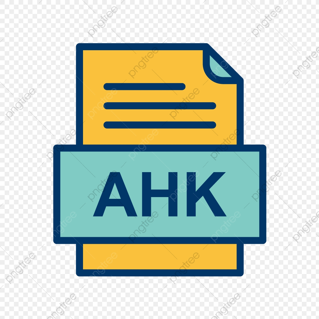 Ahk File Document Icon, Ahk, Document, File PNG and Vector