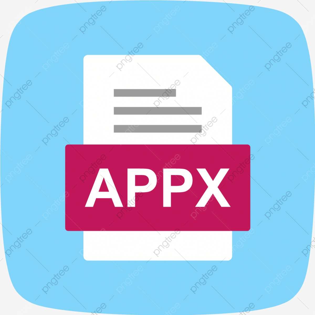 Appx File Document Icon, Appx, Document, File PNG and Vector