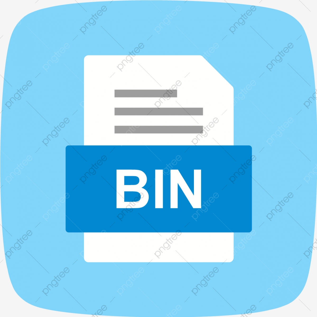 BIN File Document Icon, Bin, Document, File PNG and Vector with