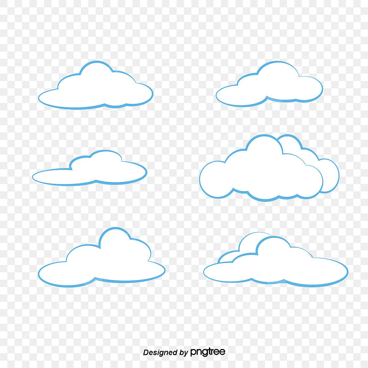 gambar awan awan yang berkibar awan kartun awan awan png dan vektor untuk muat turun percuma pngtree