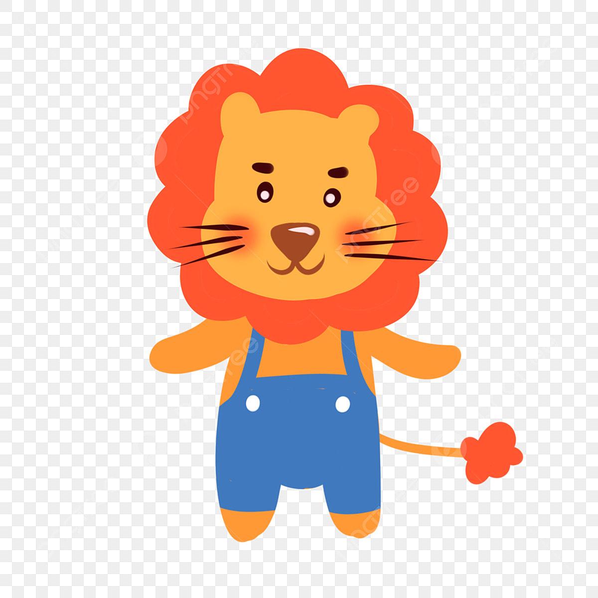 Lion Roaring Cartoon Clipart Vector - FriendlyStock