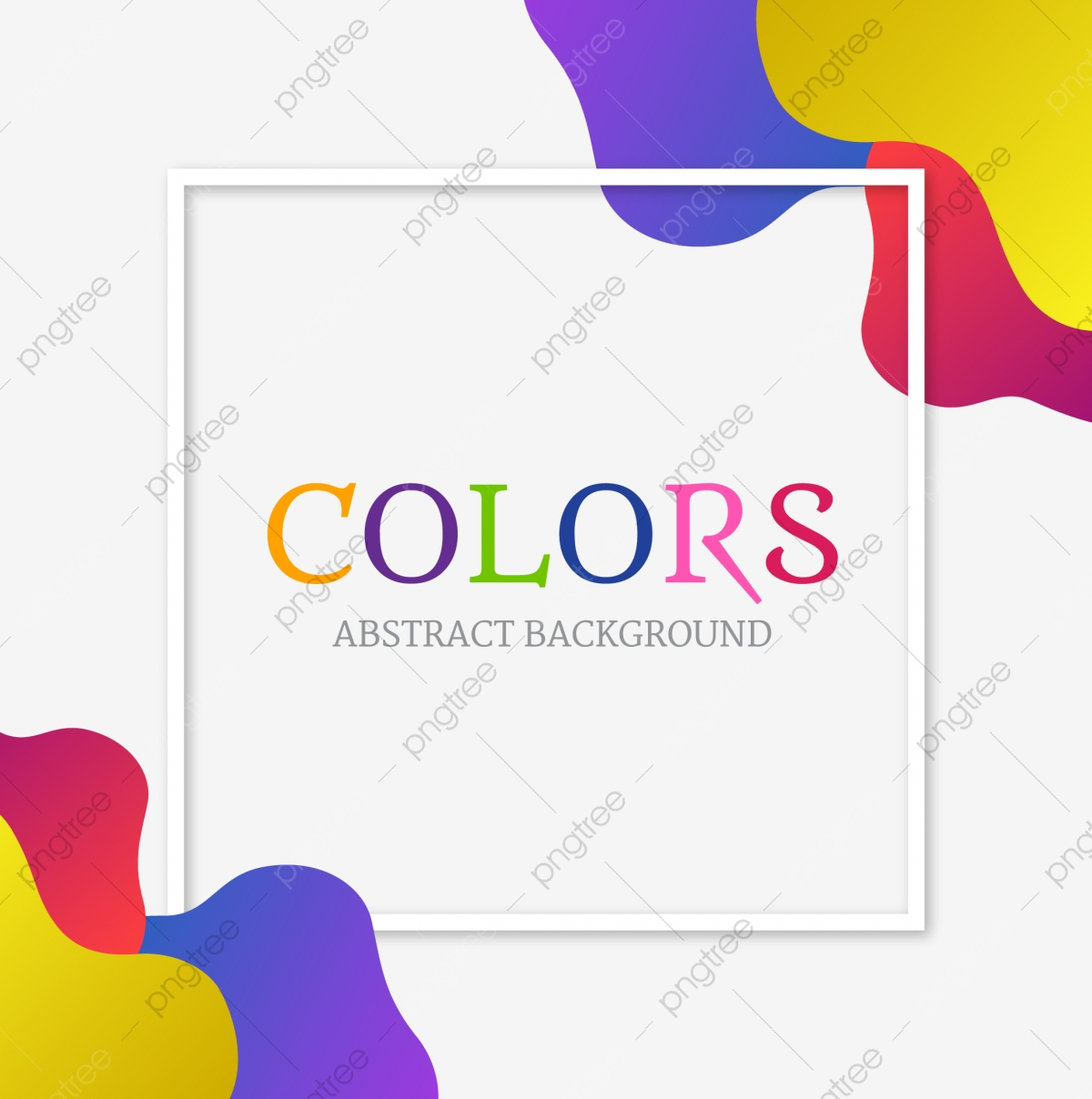 Dynamic Colorful Vibrant Abstract Background Background