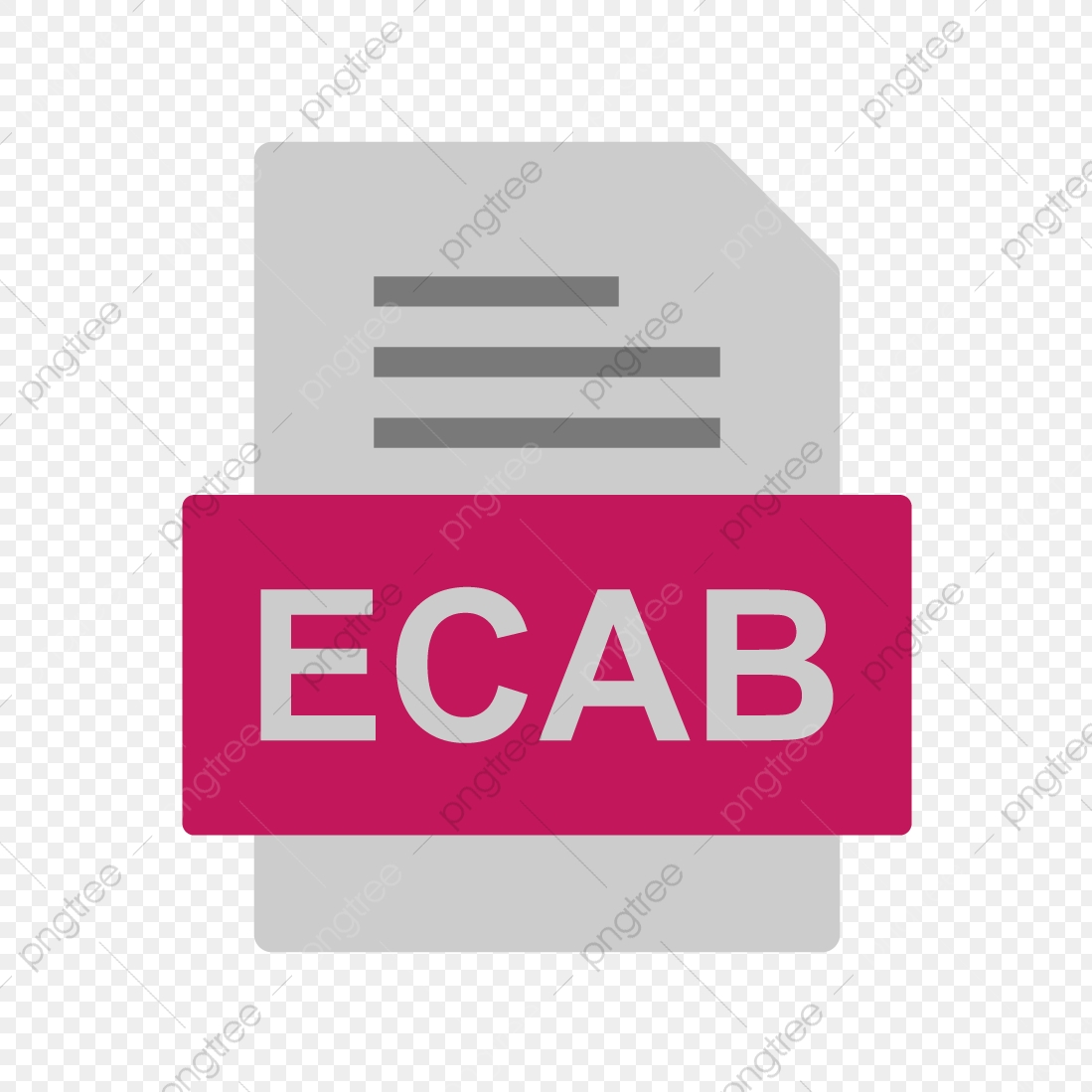ECAB File Document Icon, Ecab, Document, File PNG and Vector