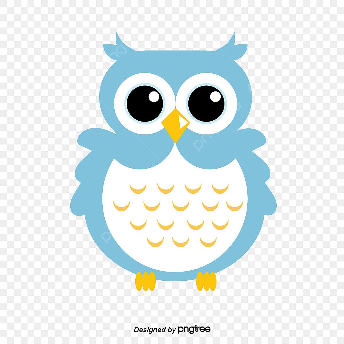 Rata Burung Hantu Grafik Clip Art Kartun Comel Png Dan Vektor
