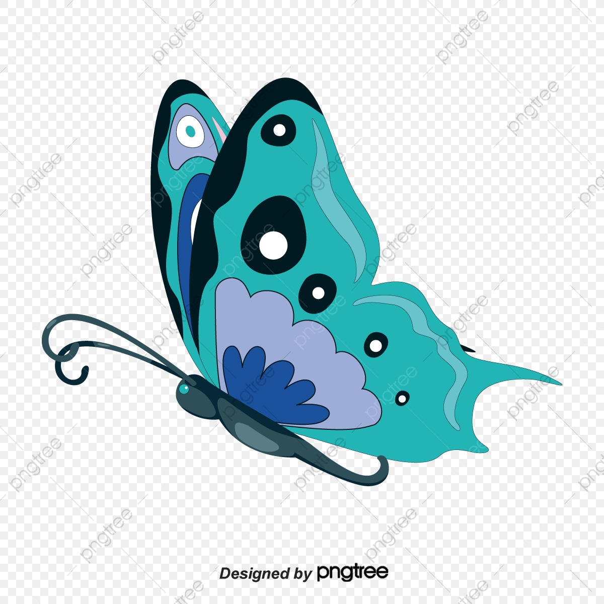 Flying Butterfly Clipart Butterfly Clipart Butterfly Vector Wings Png And Vector With Transparent Background For Free Download