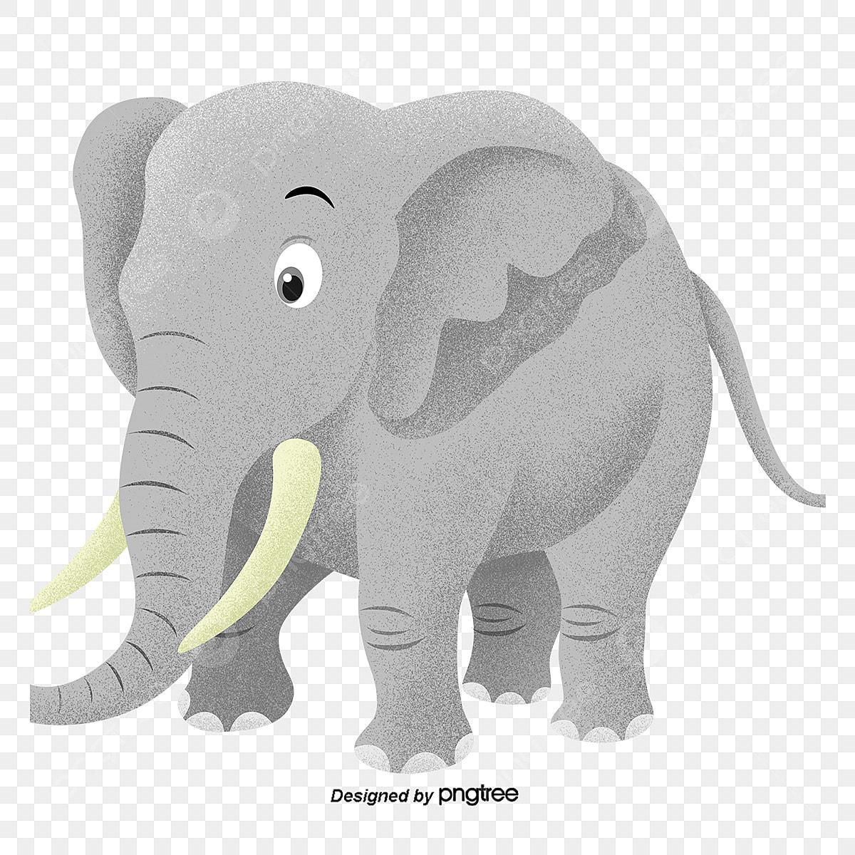 Desenho De Elefante Animal Linda Arquivo Png E Psd Para Download