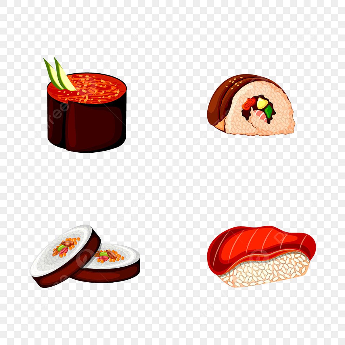 Makanan Jepang Koleksi Unsur Unsur Salmon Masakan Tradisional