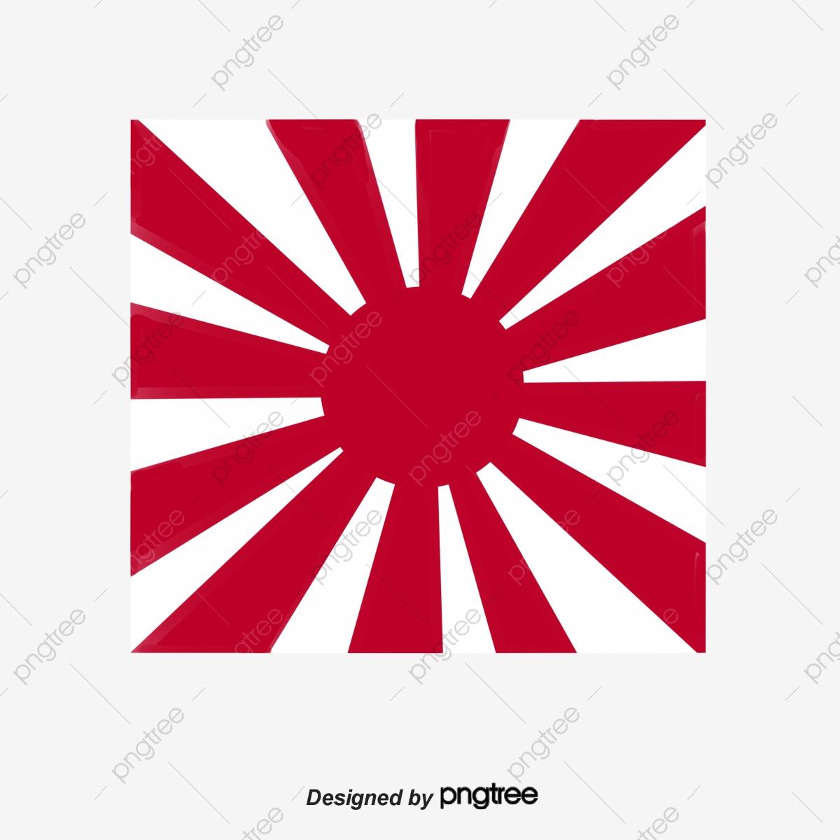 Bandera Japonesa De Rayas Blancas Y Rojas Bandera A Mano Bandera