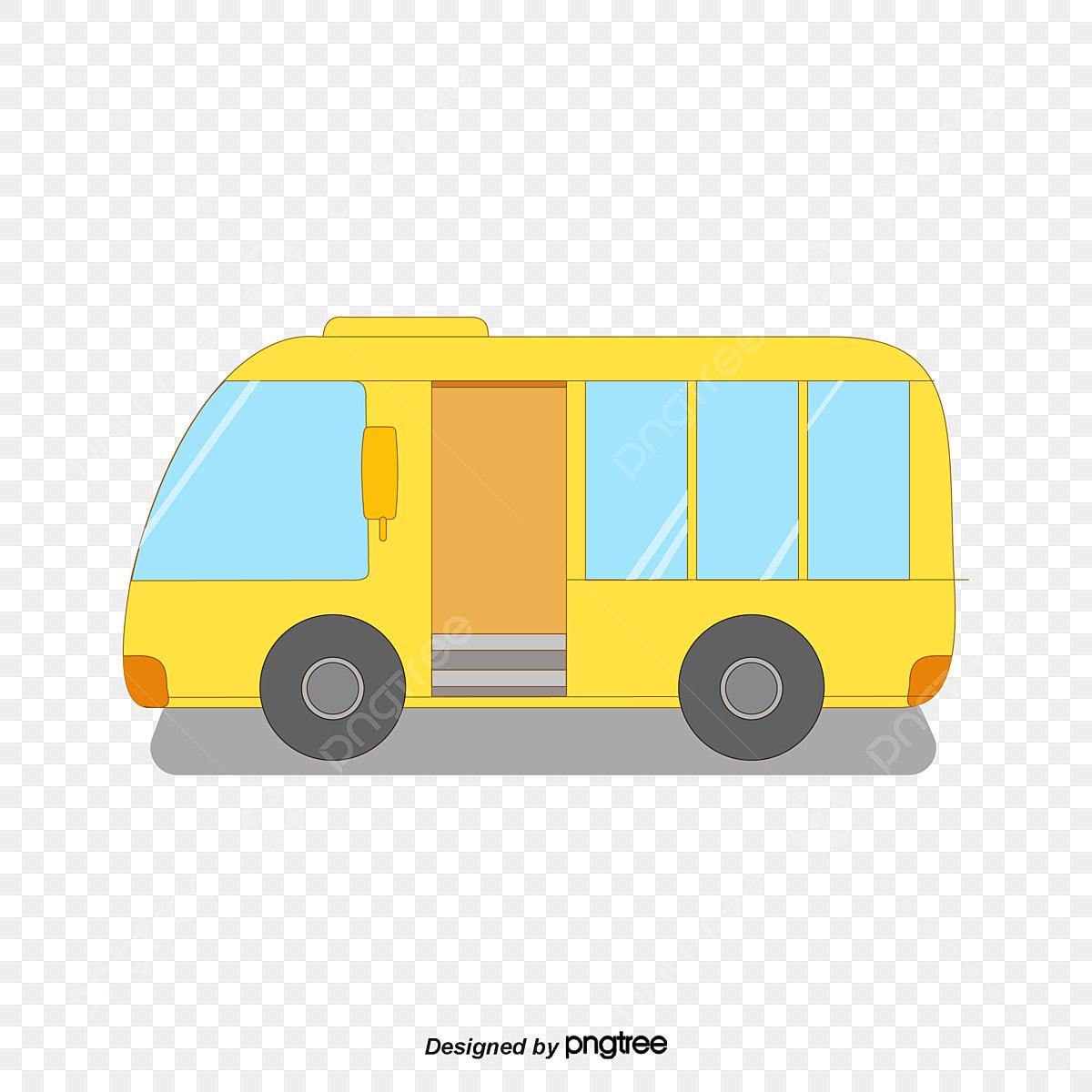 Gambar Cute Lukisan Tangan Hangat Kuning Anak Anak Sekolah Bas Kanak Kanak Comel Sekolah Dengan Mobil Png Dan Vektor Untuk Muat Turun Percuma
