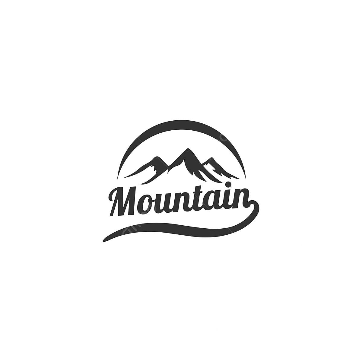 Mountain Logo Designs With Sun Symbol, Adventure, Badge, Mountain