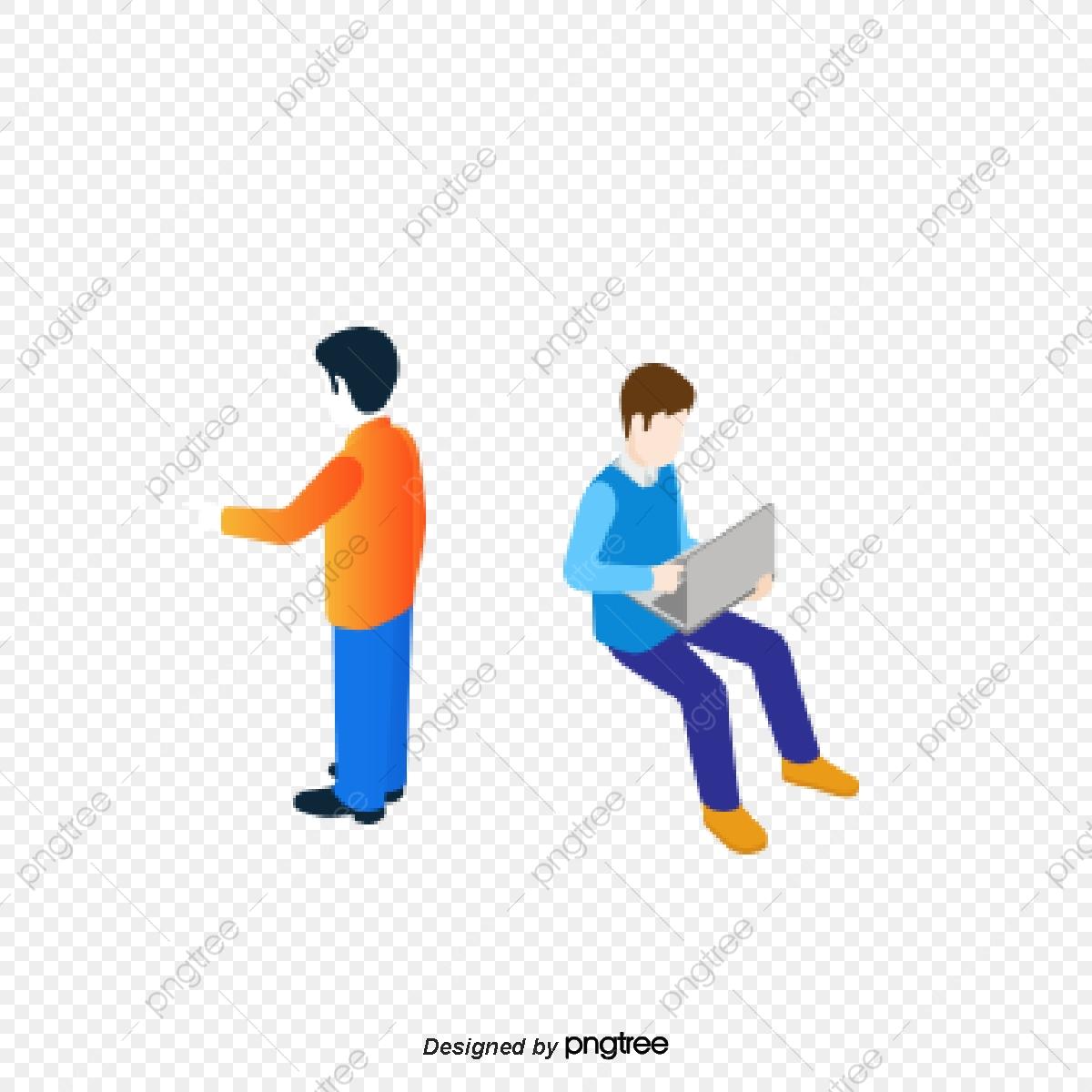 Gambar Orang Orang Perniagaan Dua Orang Di Kantor Tempat Kejadian Tokoh Perniagaan Pemandangan Pejabat Dua Orang Png Dan Vektor Untuk Muat Turun Percuma