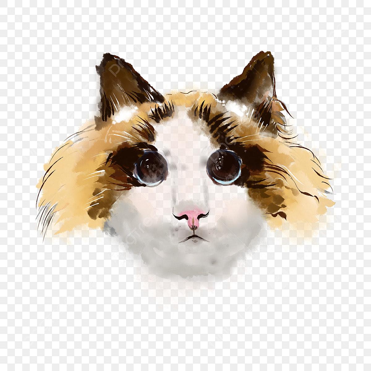 Puppet Cat Poupee Peindre Style Fichier Png Et Psd Pour Le