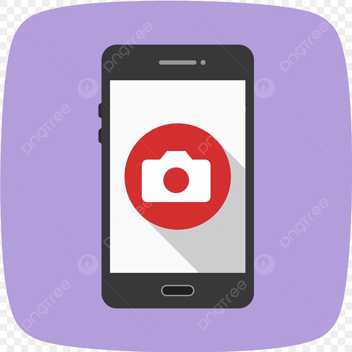 Vector Camera Mobile Application Icon, Camera, App, Mobile