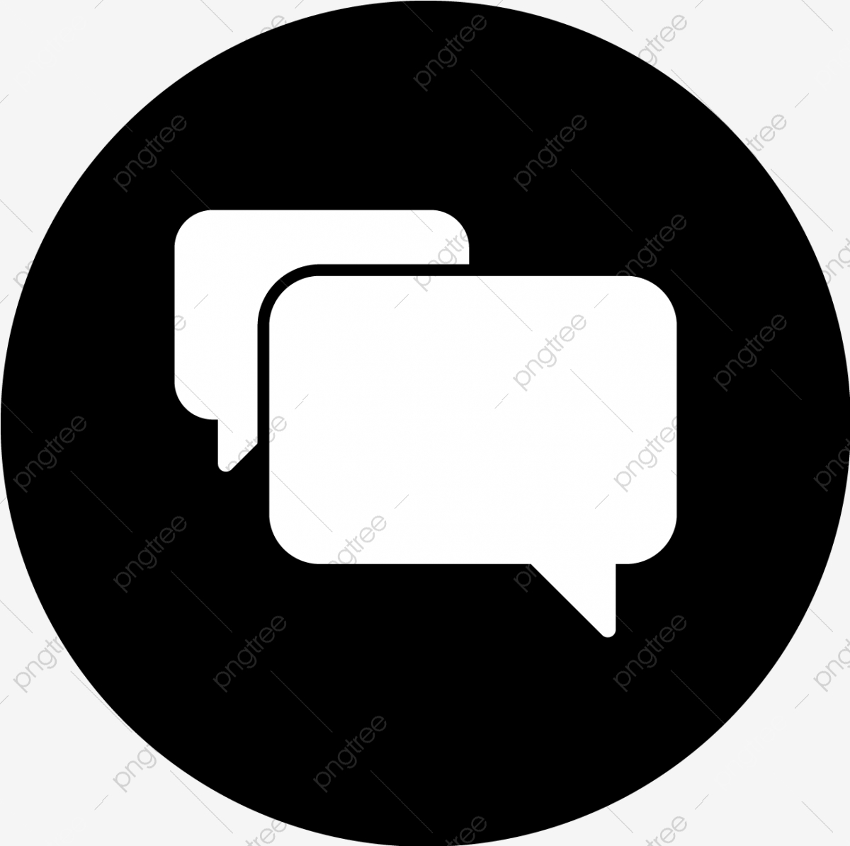 Vector Chat Icon Chat Icons Message Icon Conversation Icon Png And Vector With Transparent Background For Free Download
