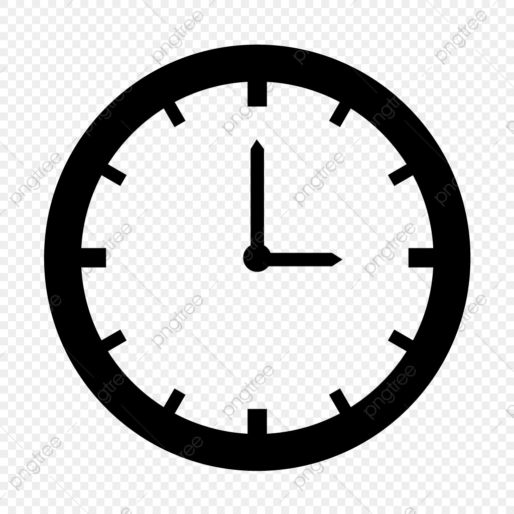 Vector Clock Icon, Clock, Time, Timer PNG and Vector with