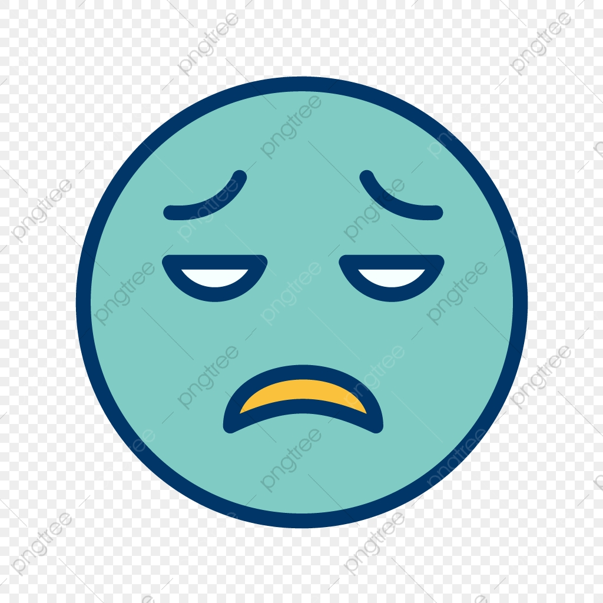 Gambar Vektor Kecewa Smiley Ikon Bentuk Kecewa Kecewa Ikon Png Dan Vektor Untuk Muat Turun Percuma
