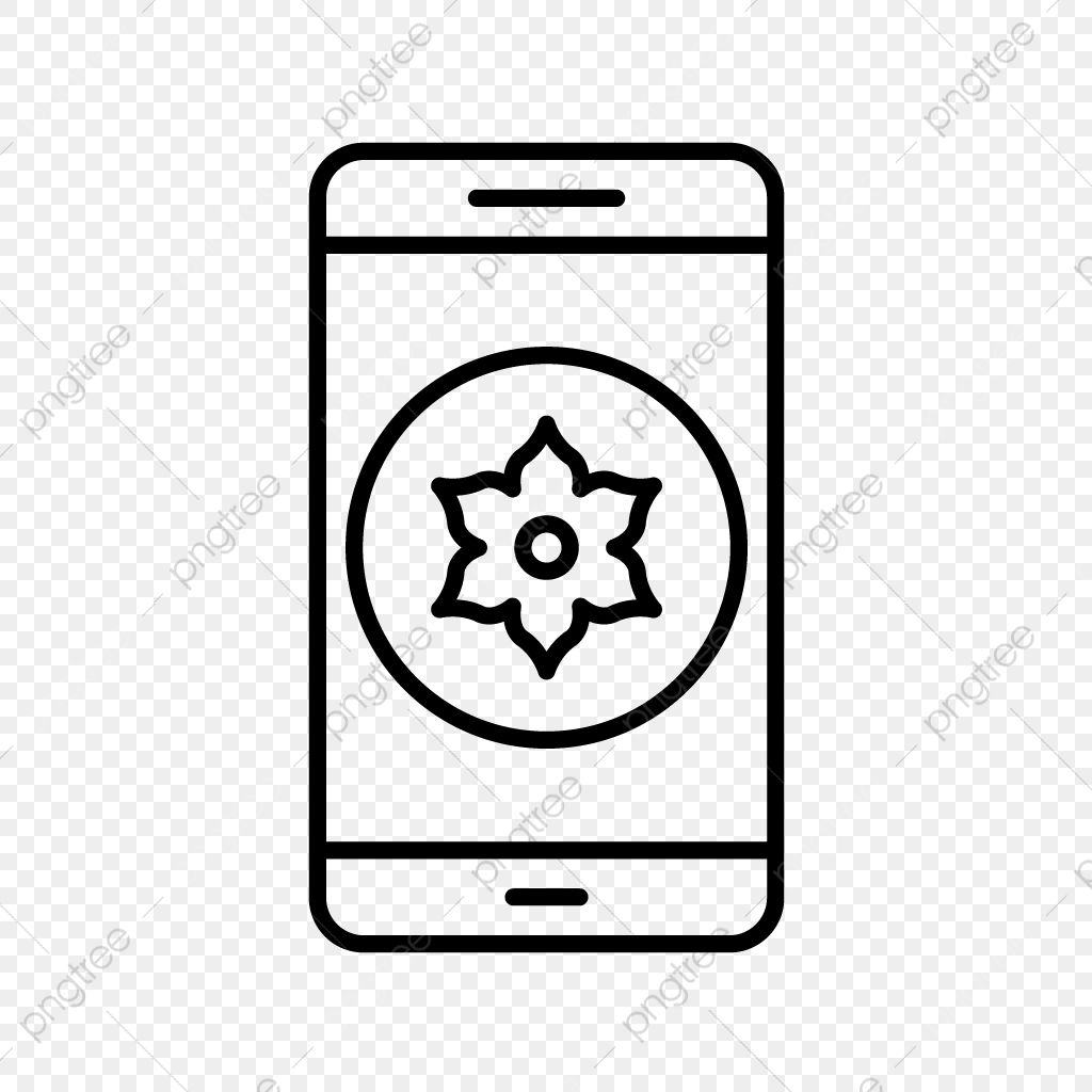 Vector Gallery Mobile Application Icon, Gallery, App, Mobile PNG and