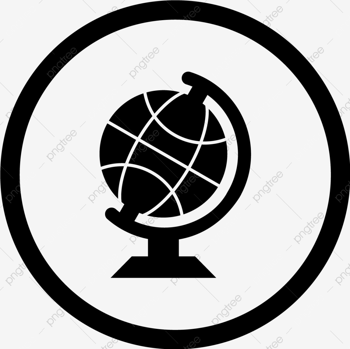 Vector Globe Icon, Globe, International, Web PNG and Vector