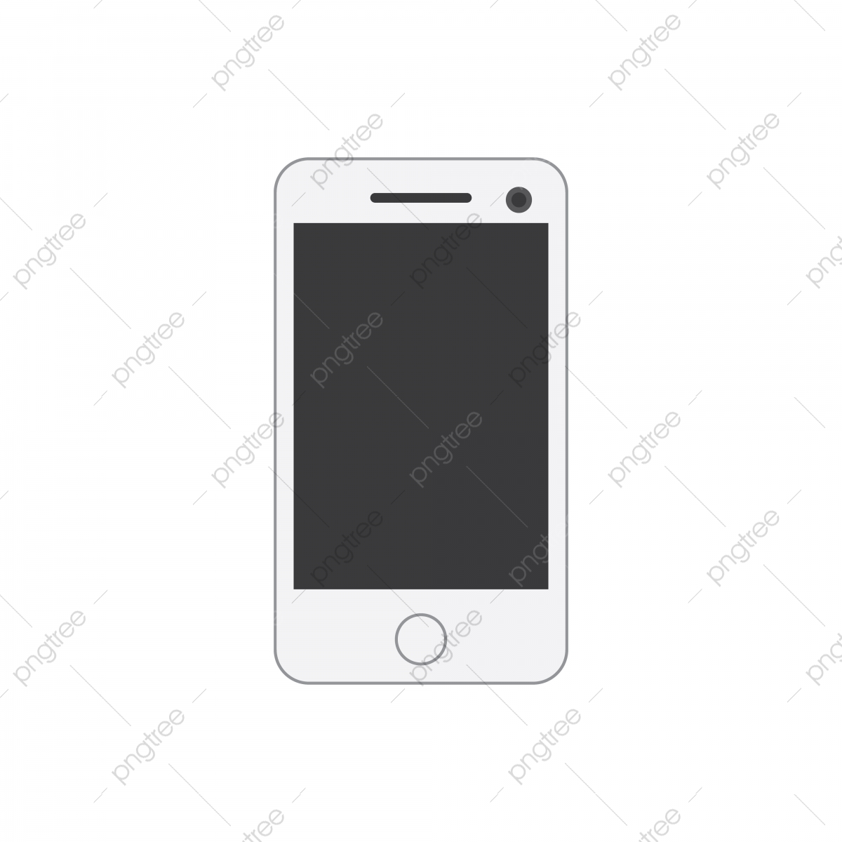 Vector Illustration Modern Phone Icon Design White Color Clip Art Vector Phone Icons Icons Converter Icons Fitness Png And Vector With Transparent Background For Free Download