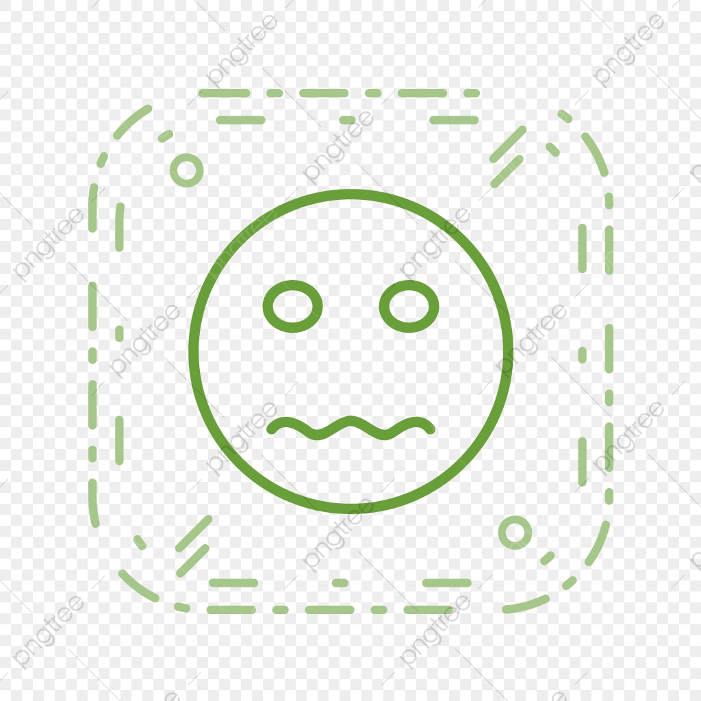 Vector Nervous Emoji Icon, Nervous, Emoji, Emoticon PNG and
