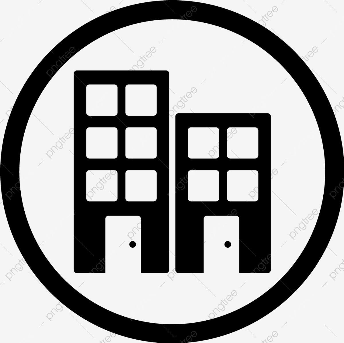 Vector Office Icon Building Hotel Office Png And Vector