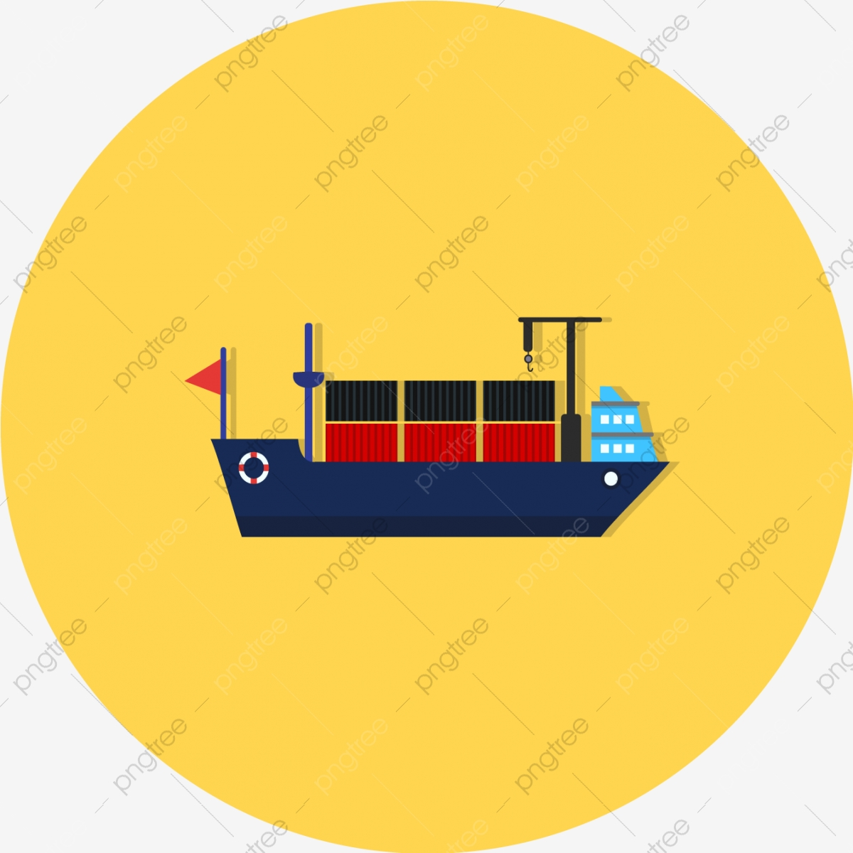 Vector Ship Icon, Shipping, Travel, Delivery PNG and Vector