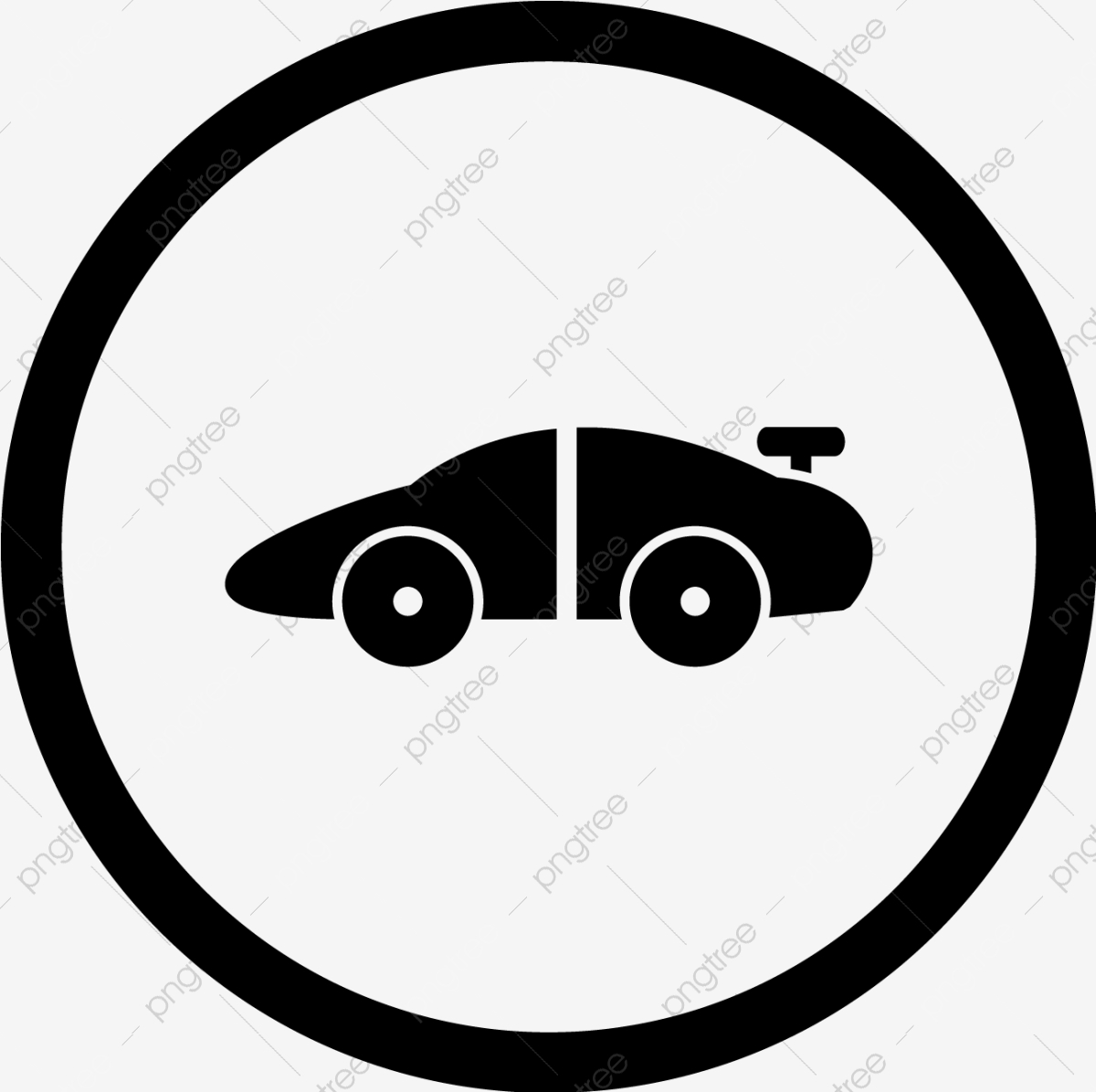Vector Sports Car Icon Race Car Sportscar Png And Vector With