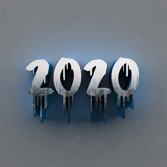 3d 2020 Art Font Text Effect PSD For Free Download