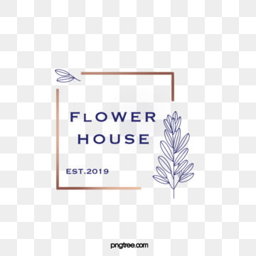 flower leaf gold chaff line border simple line style minimalist style flower shop decoration logo, Leaf, Minimalist Wind, Simple PNG and PSD