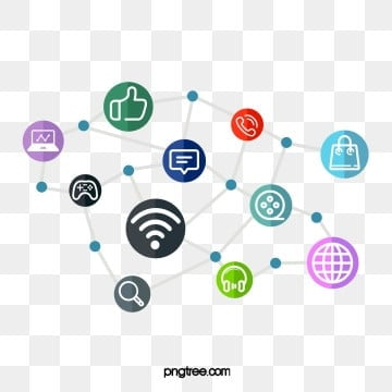 Social Network Design, Creative, Icon, Media PNG and PSD