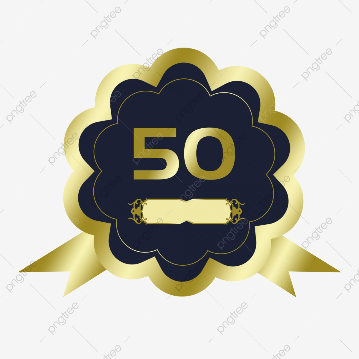 50th Anniversary Png Vector Psd And Clipart With Transparent Background For Free Download Pngtree