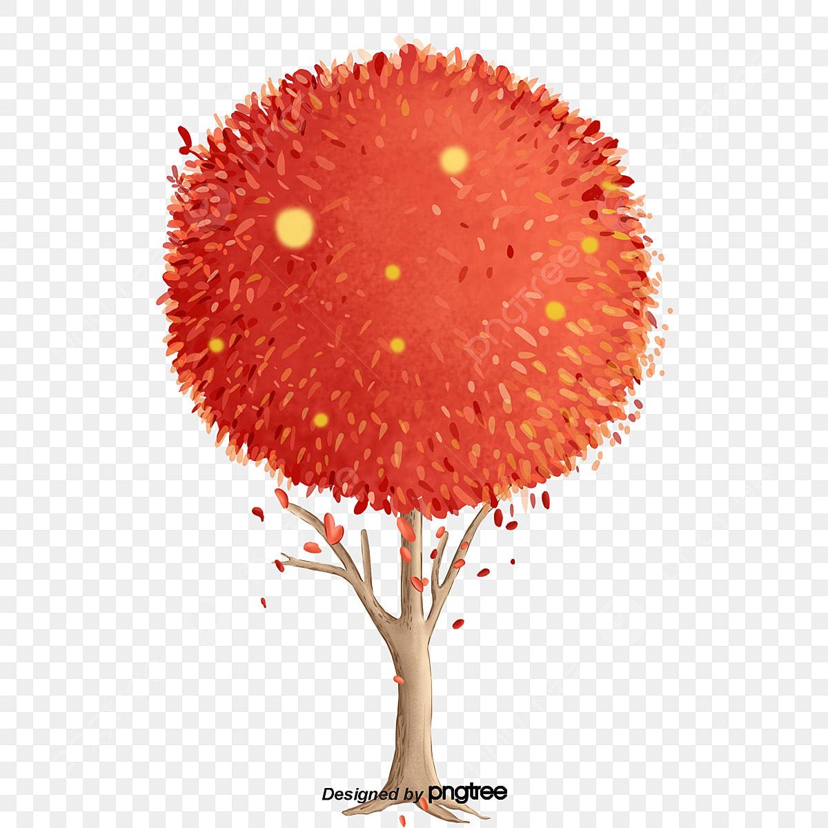 Pianta Foglie Rosse E Verdi un cuore pieno di alberi a foglie rosse, park, albero, le