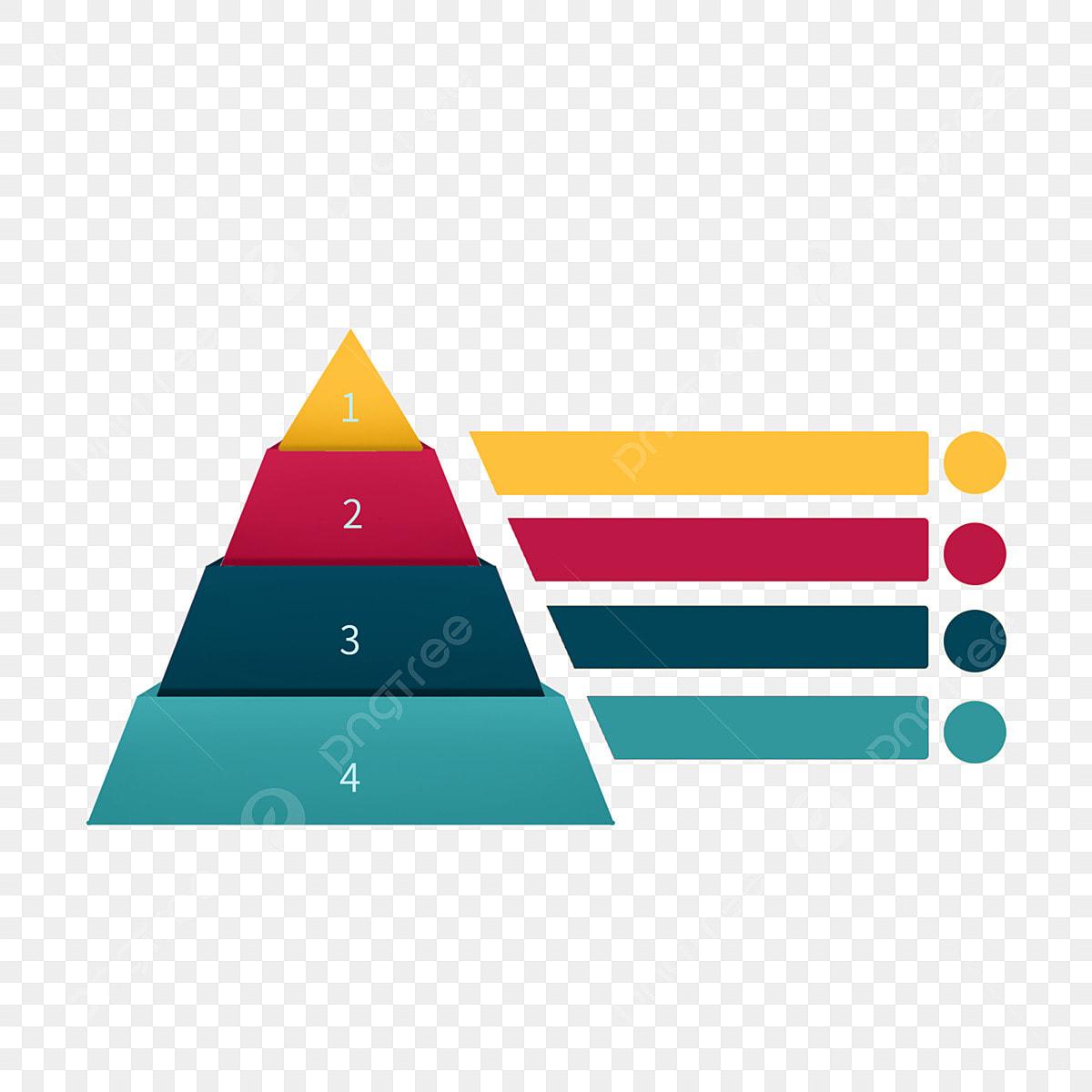 Hermosa Pirámide Ppt Plantilla Diagrama De Estructura