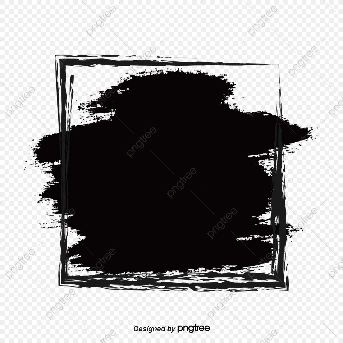 Black Graffiti With Ink Splashing Border Spatter Splashing Ink Doodling Png Transparent Clipart Image And Psd File For Free Download