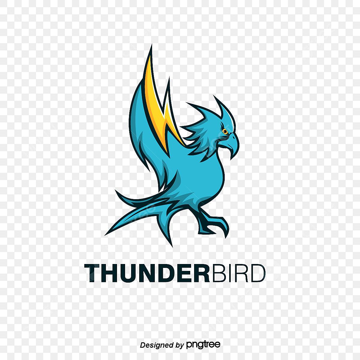 Os Icones Azuis Thunderbird Animal Indian O Icone Arquivo Png E