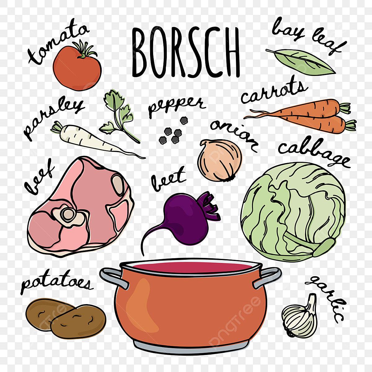 sopa de borscht rusa sin remolacha y diabetes