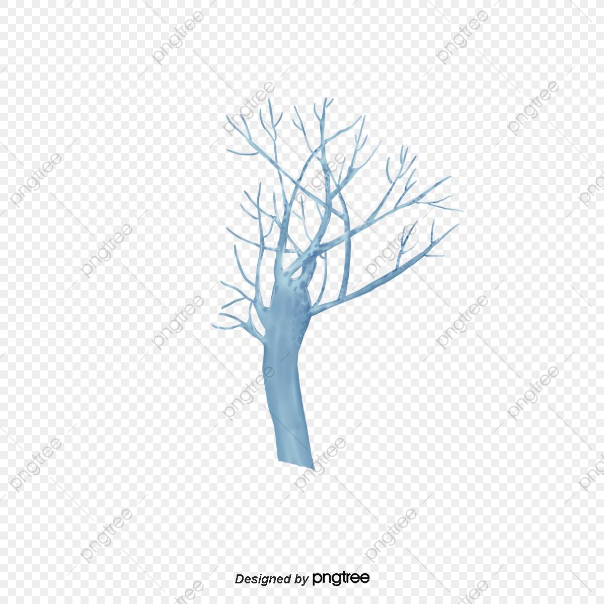 No Inverno As Arvores De Galhos Secos Elementos No Inverno No