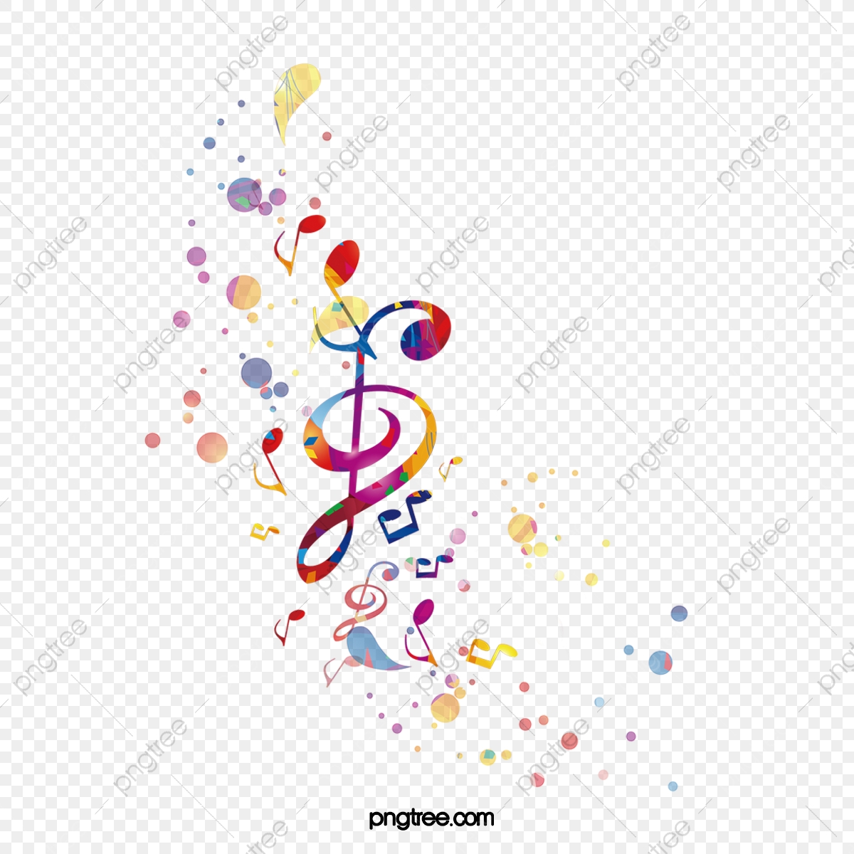 Brilliant Music Notes Sheet Music Color Dazzle Png