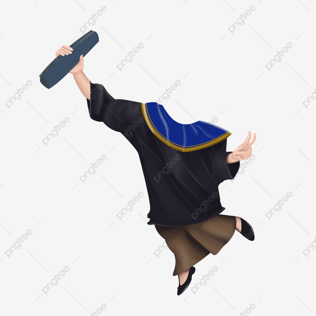 Caricature Body Graduation 4 Free Logo Design Template Edit