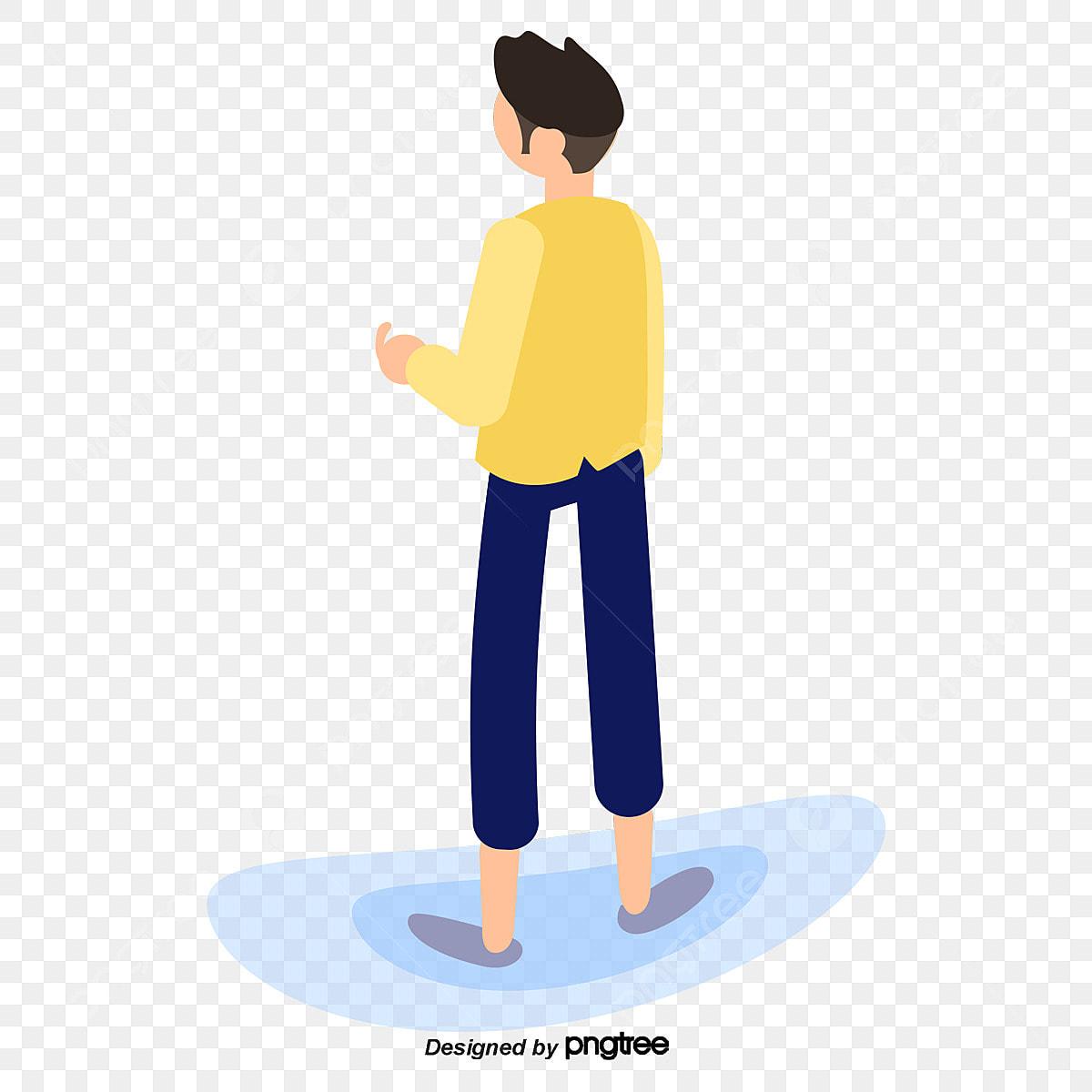 Kartun Kuning Jaket Kartun Budak Bayang Watak Watak Kartun
