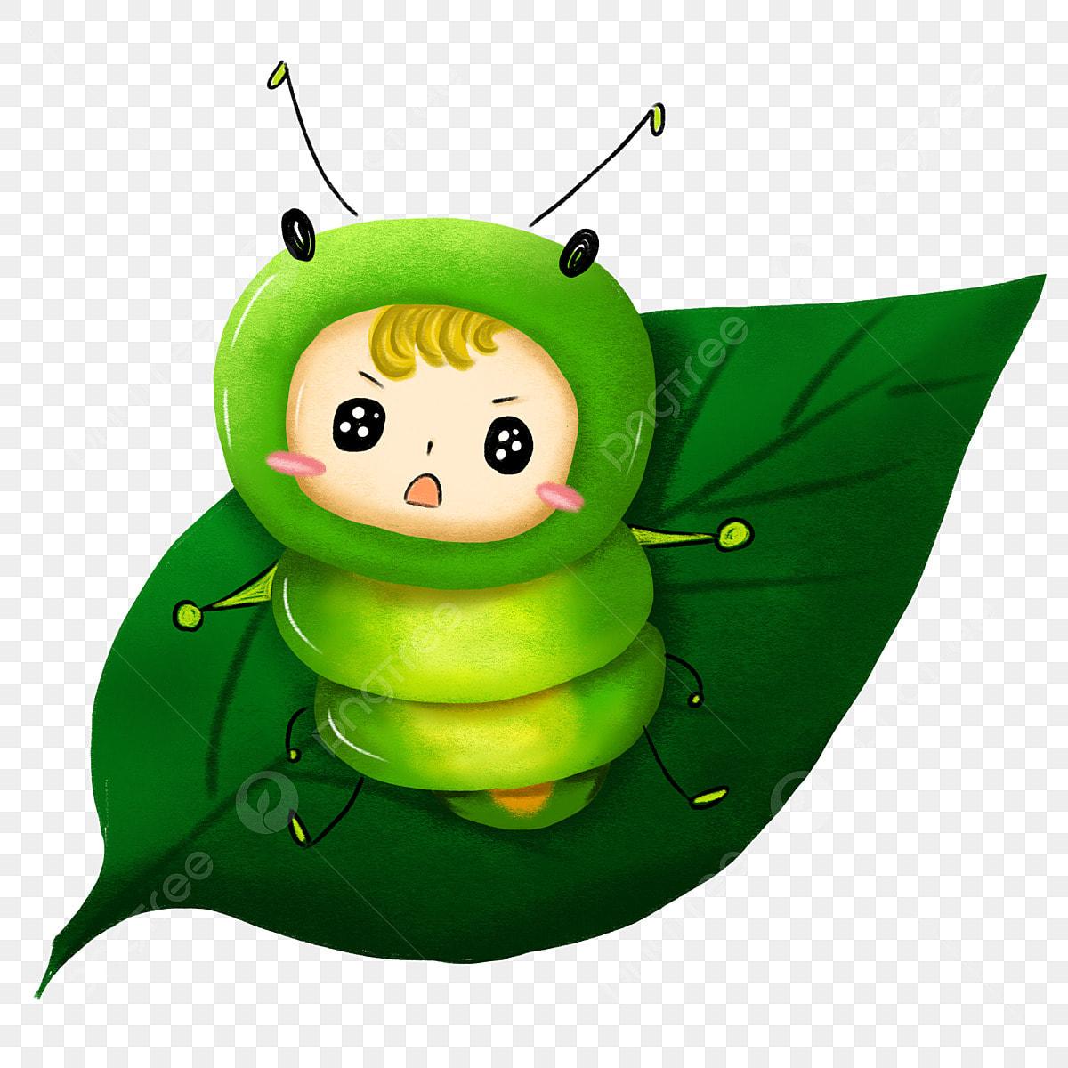 Cartoon Caterpillar Vector Illustration Picture Caterpillar Bug